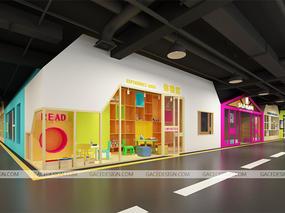【东方天才儿童教育】深圳市集合装饰设计有限公司作品