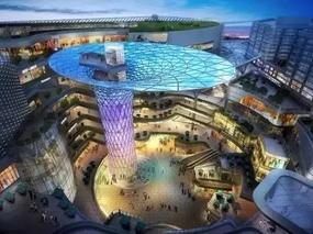 究竟是什么原因导致现在的购物中心设计都有天幕呢?
