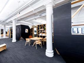 商业新闻出版社办公室装修设计
