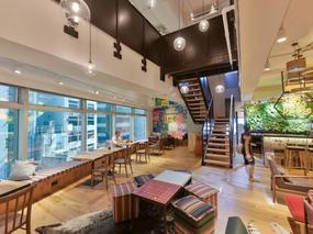 地产经纪公司办公室装修设计项目
