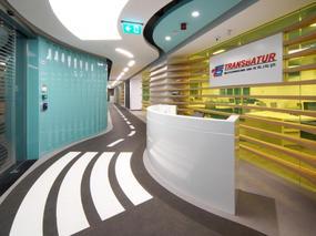 现代化开放式办公室装修设计