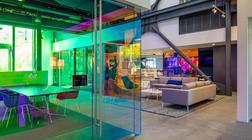 为广告公司办公室装修设计创造出非凡的视角