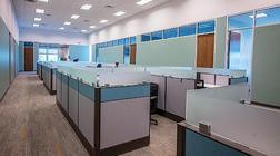快递公司办公室装修设计和仓库设计项目
