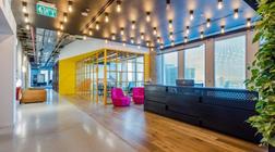 软件公司的多元化办公室装修设计
