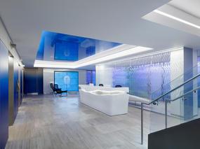 连接海洋蓝天的办公室装修设计体验