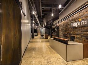 市场营销办公室装修设计 - 实业风格
