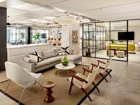耐克通讯办公室装修设计 - 自然设计