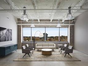 瑞星制药公司办公室装修设计架构
