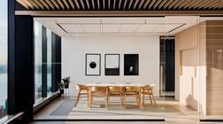 灵活的办公室装修设计环境 - 单色调