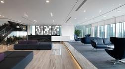 金融咨询公司的办公室装修设计