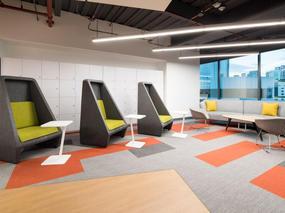 哥伦比亚联想办公室装修设计