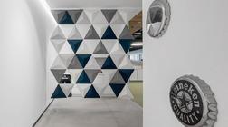 喜力办公室装修设计理念和装饰技巧