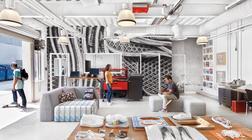 街头文化Vans的办公室装修设计源于生活