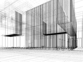 奥克斯未来中心办公大楼公区设计方案