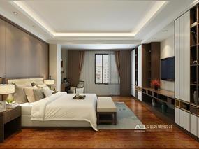 新中式卧室-住宅区