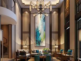 新中式—别墅设计