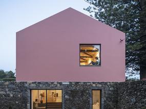 现代简约 | 葡萄牙的粉房子