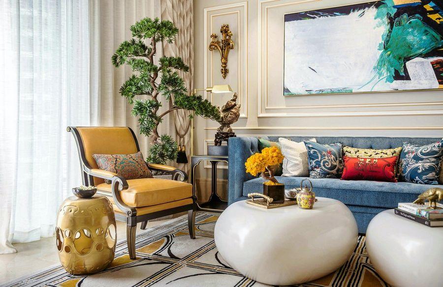 观山湖区新古典现代风家装最新案例