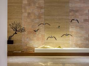 265平米东南亚新中式别墅装修案例效果图