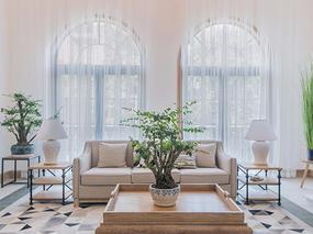 金阳新世界花园200平米别墅北欧简约风格装修设计案例效果图