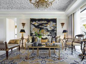 新古典法式家居风格设计案例效果图