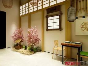 贵阳日式风格餐厅设计案例