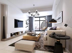 室内   现代效果图
