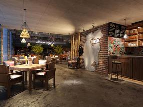 (原创)咖啡厅设计表现