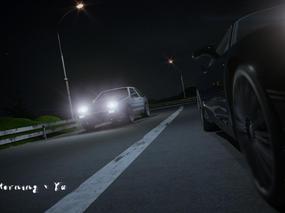 《场景练习》秋名山赛车。