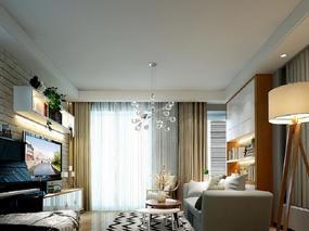 北京顶尖设计师江建业丨30万打造二居室新自然主义风格