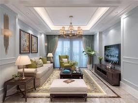 重庆著名设计师徐建强:优雅高端的现代美式风席卷金河湾