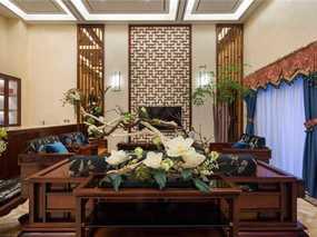 成都知名设计师付涵沁:500㎡中式别墅,活在山水花鸟间