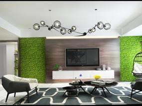 天津著名设计师李二白:家有一面植物墙,生活一派生机