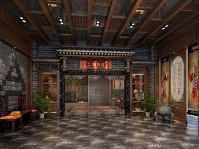 《三锅演义火锅店》郑州火锅店设计 郑州火锅店设计公司