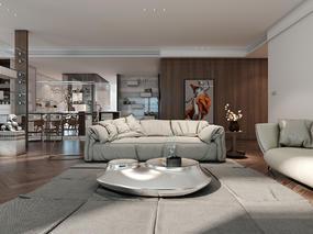 新世界435平住宅空间设计,凤栖梧桐作品<G major>