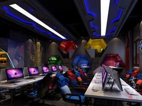成都幻室VR体验网咖装修设计