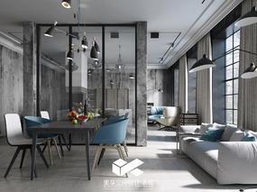 loft工业风国外住宅