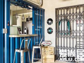 爱尚居:设计师为台湾单身狗设计69㎡公寓,原汁原味的LOFT风