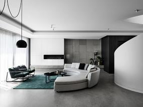 现代简约 l 奥利奥之家装修设计