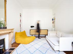 古典与现代的碰撞 | 巴黎公寓改造