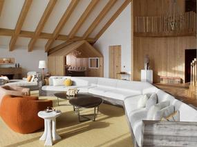 现代风格 l 瑞士雪村顶层公寓