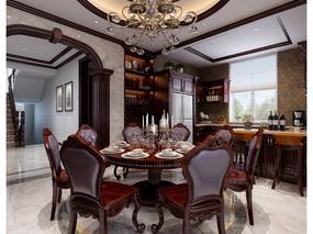 豪华美式客餐厅