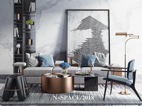 【宁空间印象】N-SPACE/2018新中式软装摆件