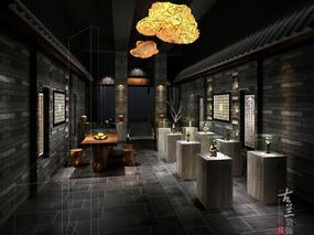【温江国色天香茶艺馆】—成都茶艺馆设计丨成都茶艺馆装修