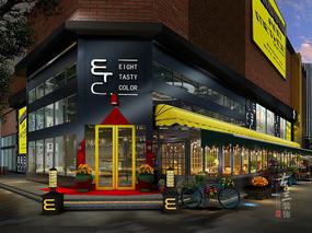 工业模式的咖啡厅-黄冈咖啡厅设计公司