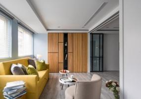 橙白设计| 14坪简约风住宅改造