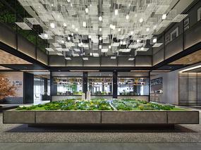 乐尚设计 | 西安保利中央公园售楼处:留驻记忆温情,构筑时代影像