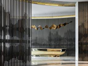 布鲁盟设计丨华侨城·原岸 美学生活馆:艺术观感下的人文空间