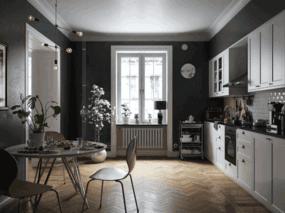 北欧公寓-厨房