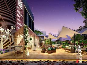 东南亚美食餐厅-山东,青岛,济南,烟台,潍坊花园餐厅设计公司